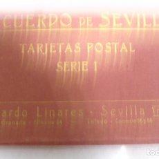 Postales: BLOCK DE 25 POSTALES. RECUERDO DE SEVILLA. SERIE I. ABELARDO LINARES. VER POSTALES. Lote 163850446