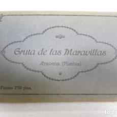 Postales: BLOCK DE 10 POSTALES. GRAUTA DE LAS MARAVILLAS. ARACENA, HUELVA. ENRIQUE DUCKER FOTO. VER POSTALES. Lote 163863238