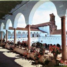 Postales: MOGUER (HUELVA). 2002 CONVENTO DE SANTA CLARA. GALERÍA. ED. ARRIBAS. NUEVA. COLOR. Lote 163928994