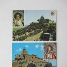 Postales: DOS POSTALES ANDUJAR - NUESTRA SEÑORA DE LA CABEZA. Lote 163986306