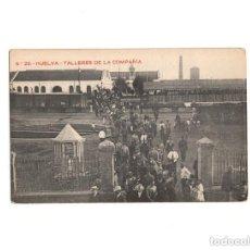 Postales: HUELVA.- TALLERES DE LA COMPAÑÍA.. Lote 164218646