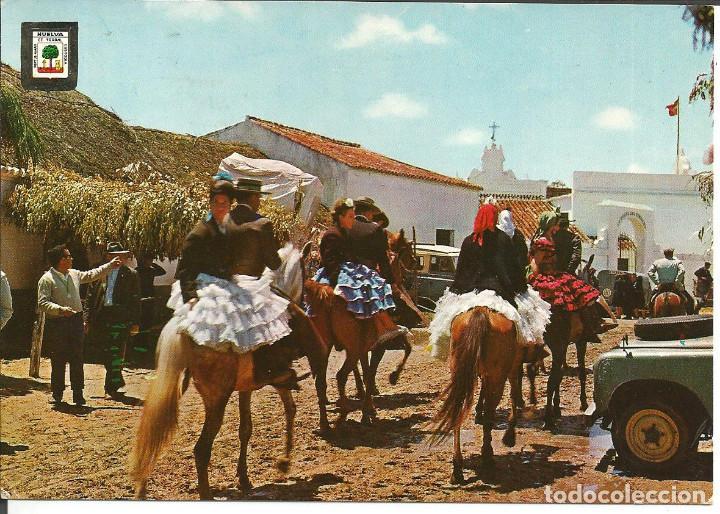 POSTAL HUELVA - ROMERIA DEL ROCÍO - SUBIRATS 1971 (Postales - España - Andalucia Moderna (desde 1.940))