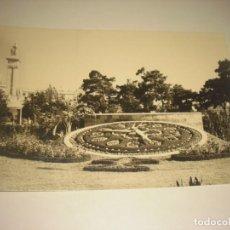 Postales: CADIZ Nº 84 PLAZA ESPAÑA - RELOJ FLORAL Y MONUMENTO A LAS CORTES . ESCRITA. ED. SICILIA. Lote 164842558
