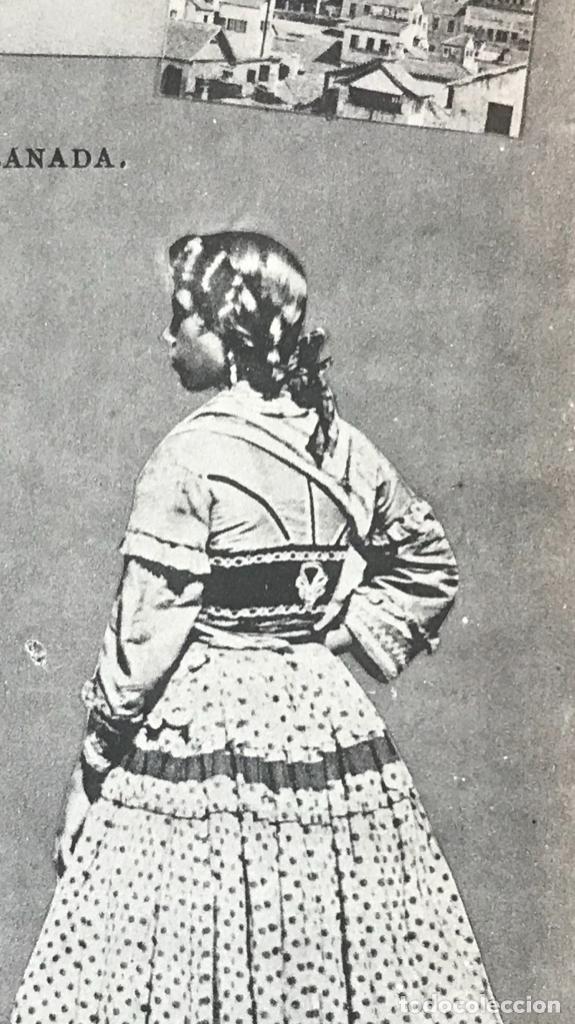 Postales: granada folklore antigua postal pareja trajes tipicos regionales j roig - Foto 3 - 164885206