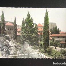 Postales: POSTAL GRANADA. LA ALHAMBRA. JARDINES DEL PORTAL. ED. GARCÍA GARRABELLA. . Lote 165214066
