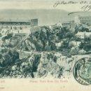 Postales: GIBRALTAR. BUENA VISTA DESDE EL SUR. CIRCULADA EN 1906. BUQUE GUERRA FRANCÉS GALILEO.. Lote 165375222