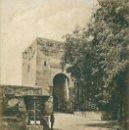 Postales: GRANADA. PUERTA DE LA JUSTICIA. CIRCULADA EN 1925.. Lote 165375618