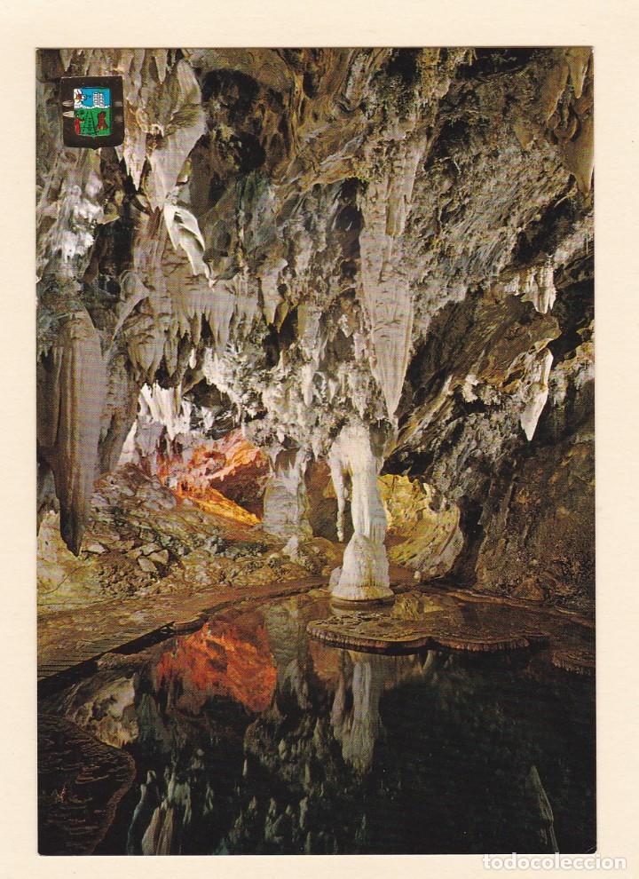 POSTAL GRUTA DE LAS MARAVILLAS. LAGO ESMERALDA. ARACENA. HUELVA (1968) (Postales - España - Andalucia Moderna (desde 1.940))