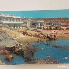 Postales: HOTEL CALYPSO Y PLAYA PULPI ALMERIA. Lote 165563718