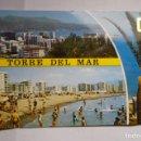 Postales: POSTAL TORRE DEL MAR.- GENERAL Y PLAYA. Lote 165736562