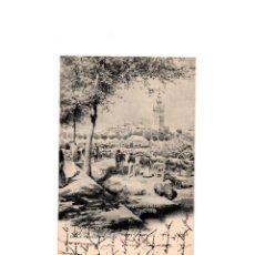 Postales: SEVILLA.- EN LA FERIA DE SEVILLA.- HAUSER Y MENET.. Lote 165790470