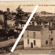 Cartes Postales: PRECIOSA POSTAL - GUADIX (GRANADA) - BARRIO DE SANTO DOMINGO. Lote 165795278