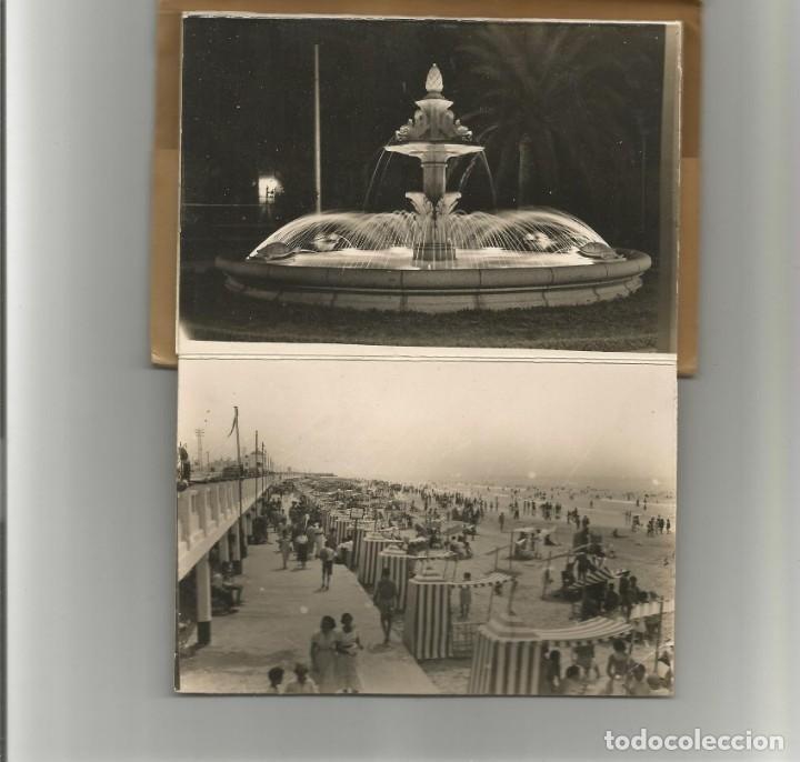 BLOC DE 10 POSTALES FOTOGRAFICAS EN ACORDEON -RECUERDO DE CADIZ-Nº 2- EDICIONES AISA- (Postales - España - Andalucía Antigua (hasta 1939))