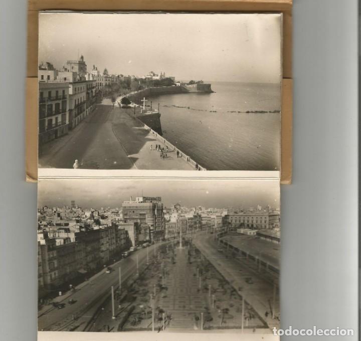 Postales: BLOC DE 10 POSTALES FOTOGRAFICAS EN ACORDEON -RECUERDO DE CADIZ-Nº 2- EDICIONES AISA- - Foto 2 - 165855378