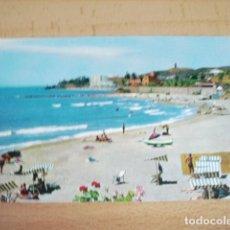 Postales: TORREMOLINOS ( MALAGA ) PLAYA CAMPING TORREMOLINOS. Lote 165962378