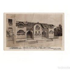 Postales: CAZORLA.(JAÉN).ESCUELAS MUNICIPALES.GRUPO MERCEDES. DONACIO DE LA EXC. MERCEDES GÓMEZ URIBARRI.1917. Lote 166054062