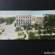 Postales: LINARES JAEN ENTRADA PASEO LNAREJOS Y GLORIETA DE AMERICA POSTAL ALARGADA. Lote 166137214