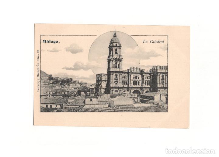 MÁLAGA.- LA CATEDRAL. (Postales - España - Andalucía Antigua (hasta 1939))