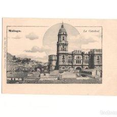 Postales: MÁLAGA.- LA CATEDRAL.. Lote 166154510