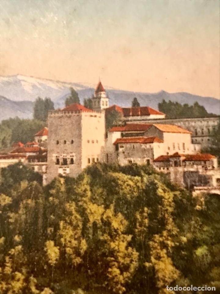 Postales: granada vista general de la alhambra antigua postal coloreada sin circ colores bonitos purger 5838 - Foto 2 - 166219814