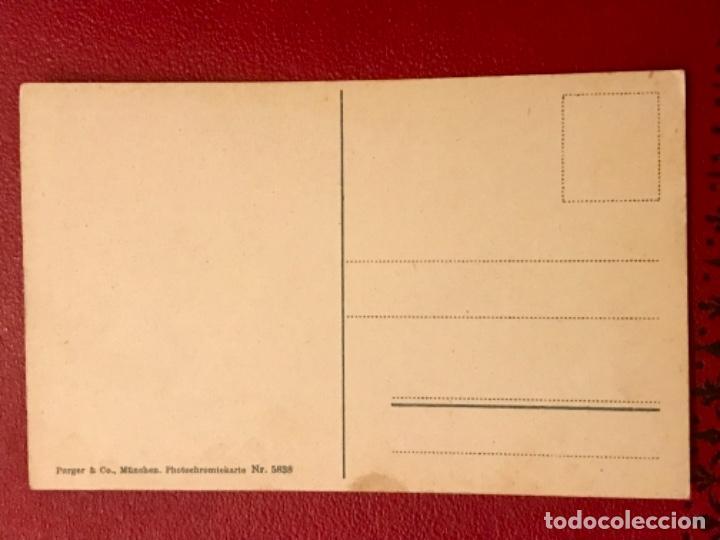 Postales: granada vista general de la alhambra antigua postal coloreada sin circ colores bonitos purger 5838 - Foto 3 - 166219814