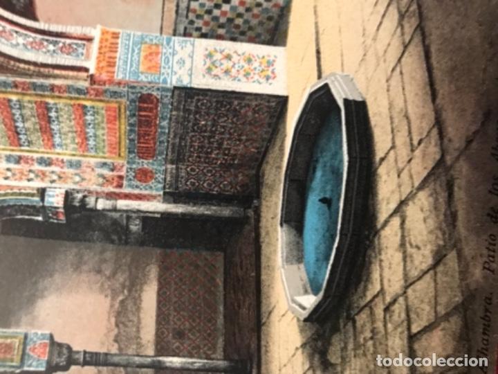Postales: granada patio de los abencerrajes Alhambra andalucia antigua postal coloreada purger 5822 excelente - Foto 2 - 166220050
