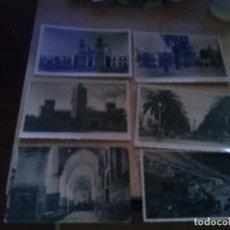 Postales: LOTE DE 11 POSTALES DE LOS AÑOS 50 DE CADIZ Y PROVINCIA ESCRITAS Y ALGUNAS CON SELLO. Lote 166395366