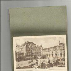 Postales: LIBRO DE 10 POSTALES EN ACORDEON -RECUERDO DE LEON- NUMERACION Y DETALLE EN LA BASE-MBC. Lote 166424890