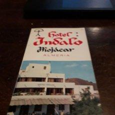 Postales: TRIPTICO HOTEL INDALO MOJACAR. Lote 166453533