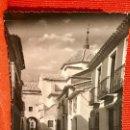 Postales: HUERCAL OVERA FOTOGRAFIA ORIGINAL CALLE DEL ARCO IGLESIA 1960 ALMERIA HUERCAL TIPO POSTAL. Lote 166466722