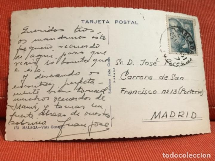 Postales: malaga vista general postal fotografica foto cortes - Foto 3 - 166467770