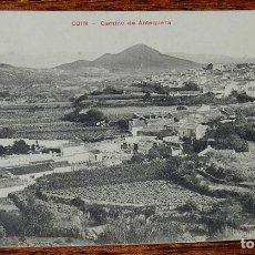 Postales: POSTAL DE COIN, ANTEQUERA, MALAGA, CAMINO DE ANTEQUERA, CASA EDITORIAL PHG VALLADOLID, NO CIRCULADA.. Lote 166498214