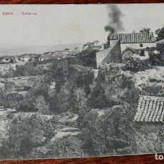 Postales: POSTAL DE COIN, CALERAS, ANTEQUERA, MALAGA, CASA EDITORIAL PHG VALLADOLID, NO CIRCULADA.. Lote 166498462