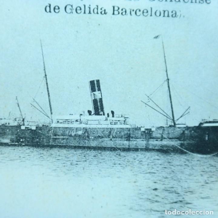 Postales: Postal Salvamiento de Naufragos N° 32, Miguel Jover, Sevilla, circulada en febrero de 1903 - Foto 3 - 166580650