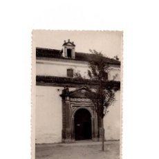 Postales: GIBRALEÓN.(HUELVA).- PARROQUIA DE SAN JUAN BAUTISTA. POSTAL FOTOGRÁFICA. FOTO BAEZ.. Lote 166617958