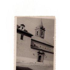 Postales: GIBRALEÓN.(HUELVA).- IGLESIA DE SANTIAGO. POSTAL FOTOGRÁFICA. FOTO BAEZ.. Lote 166618334
