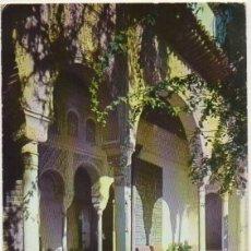 Postales: POSTAL DE GRANADA. GENERALIFE. PORTICO NORTE P-ANGRA-615. Lote 167097260