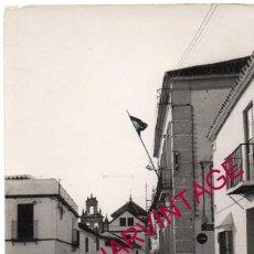 Postales: FUENTES DE ANDALUCIA, SEVILLA, POSTAL FOTOGRAFICA AYUNTAMIENTO, MUY RARA. Lote 167167760