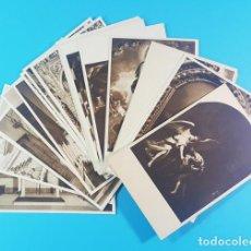Postales: LOTE 35 POSTALES AÑOS 50 DE LA SANTA CARIDAD DE SEVILLA, NUEVAS SIN CIRCULAR, NUMERADAS 1 AL 35. Lote 167462236