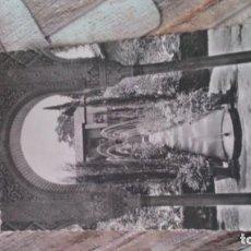Postales: POSTAL GRANADA ALHAMBRA GENERALIFE, JARDINES. Lote 167563000