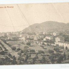 Postales: POSTAL DE MALAGA FOTOTIPIA THOMAS DE BARCELONA - PASEO DE MIRAMAR- SIN CIRCULAR. Lote 167862968