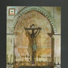 Postales: POSTAL SIN CIRCULAR - LA RABIDA 1371 - HUELVA - CRISTO DE LA RABIDA - EDITA ESCUDO DE ORO. Lote 167892100