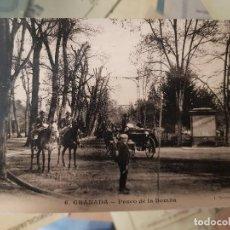 Postales: ANTIGUA POSTAL GRANADA PASEO DE LA BOMBA MARTINEZ JULIA. Lote 168280104