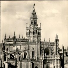 Postales: SEVILLA – CATEDRAL 14 X 9 CMS. Lote 168390064