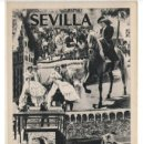 Postales: ESPAÑA SPAIN TARJETA POSTAL SEVILLA FIESTAS DE PRIMAVERA HOTEL FABIÁN FOTO SERRANO. Lote 168456152