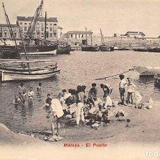 Cartes Postales: MÁLAGA.- EL PUERTO.- PZ 10580. Lote 168809532