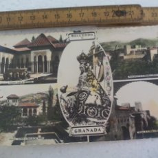 Postales: RECUERDO DE GRANADA , EDICIONES ARRIBAS, SIN CIRCULAR POSTAL POSTCARD. Lote 168838664