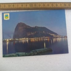 Postales: Nº 12, LA LINEA, PEÑON DE GIBRALTAR. SUBIRATS, ESCUDO DE ORO. POSTAL POSTCARD. Lote 168864792