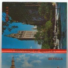 Postales: LIBRO DE 12 POSTALES DE SEVILLA DE RODRIGUEZ CASTILLEJO-AÑOS 70-COLECCION TRIANA-. Lote 168925900