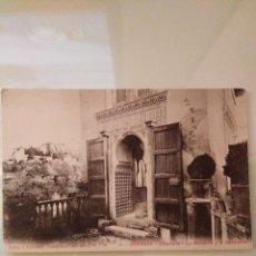 Postales: POSTAL ANTIGUA DE GRANADA. ALHAMBRA. LA MEZQUITA Y EL GENERALIFE. Lote 169021724